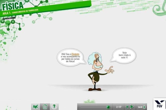 Portal online gratuito disponibiliza aulas e testes preparatórios para o Enem Reprodução/FGV