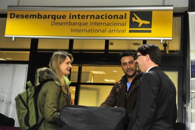 Primeiros profissionais vindos do Exterior para atender pelo Programa Mais Médicos chegam a Porto Alegre Lauro Alves/Agencia RBS