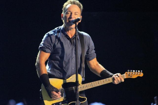 Bruce Springsteen canta em protesto a Donald Trump Thaigo Duran/AgNews