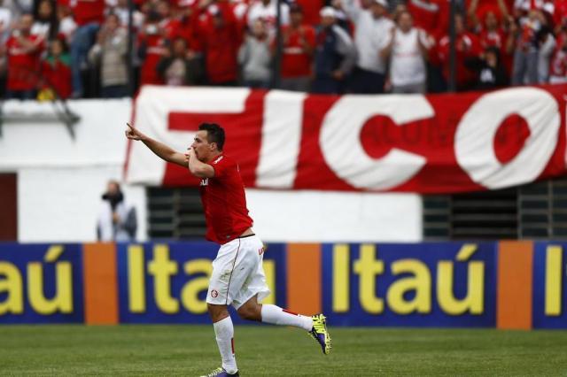 Corinthians quis Leandro Damião para a Libertadores 2012 e agora projeta 2014 com o centroavante no elenco Ricardo Duarte/Agencia RBS