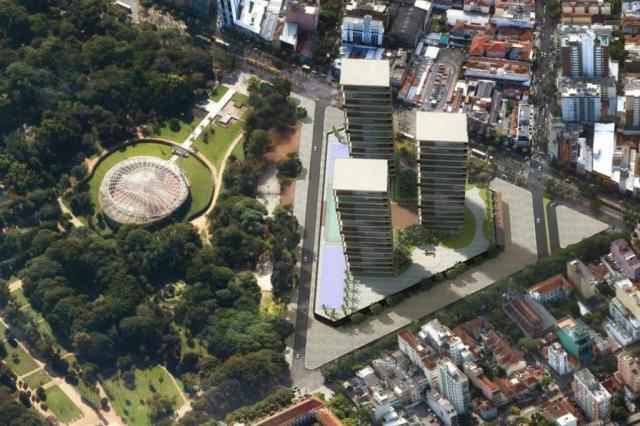 Site falso mostra projeto de construção de prédios no parque da Redenção Reprodução/Reprodução