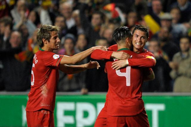 Com gol de Cristiano Ronaldo, Portugal vence a Suécia pelas Eliminatórias Miguel Riopa,AFP/