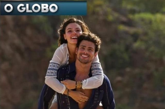 """Cauã Reymond e Isis Valverde aparecem juntos em fotos de """"Amores Roubados"""" O Globo/Reprodução"""