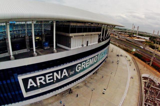 Sócios poderão levar um acompanhante e até dois menores de 12 anos isentos de ingresso em Grêmio x Aimoré Bruno Alencastro/Agencia RBS