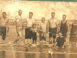 Foto da família Haubert em Tramandaí no ano de 1923. Foto enviada por Roque Maciel de Almeida.