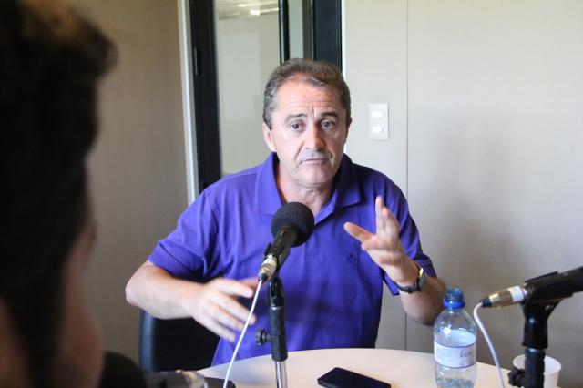 """Francisco Novelletto fala sobre o Gauchão 2014: """"A fórmula não mudou, só fizemos uma adaptação"""" Natália Pithan/Rádio Gaúcha"""