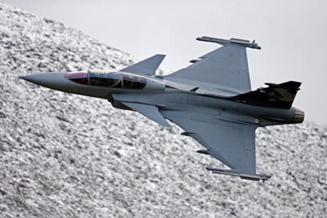 Brasil escolhe caça sueco Gripen Copyright Saab AB/Divulgação