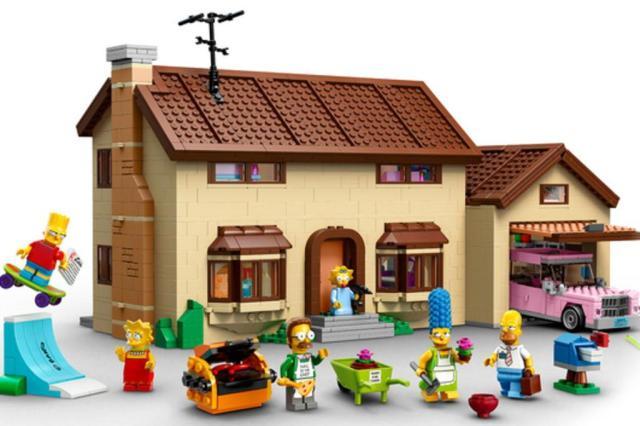 Lego divulga imagens de brinquedo inspirado em Os Simpsons Lego/Divulgação
