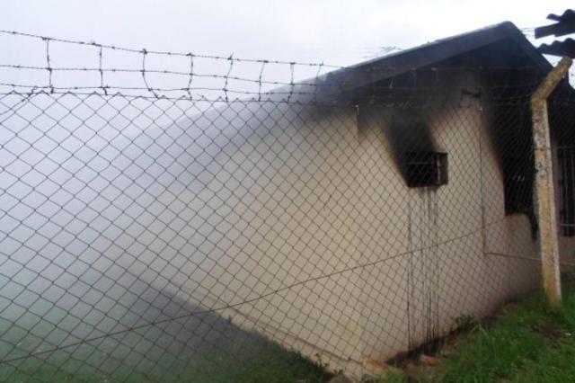 Incêndio atinge ala do presídio de Vacaria Ladimir Fabris/Rádio Fátima/Divulgação