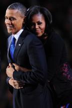 Casal Obama revela experiências pessoais com discriminação racial Robyn Beck/AFP