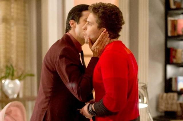 Beijo entre Félix e Niko já foi gravado para o último capítulo de Amor à Vida Estevam Avellar/TV Globo/Divulgação