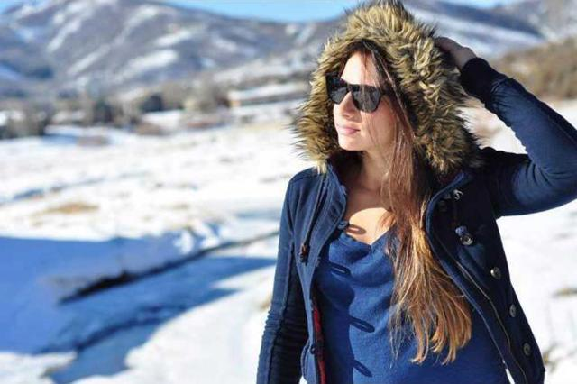 Colisão com galho de árvore ocasionou acidente da esquiadora Laís Souza Facebook/Reprodução/