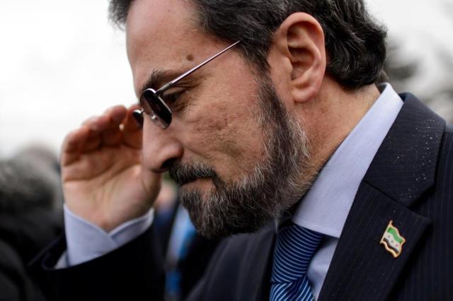Oposição síria anuncia primeiro avanço nas tratativas em Genebra FABRICE COFFRINI/AFP