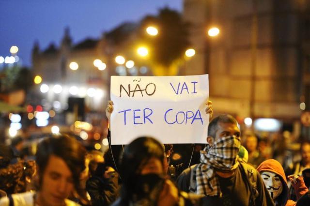 Como novas manifestações devem interferir no jogo eleitoral de 2014 Carlos Macedo/Agencia RBS