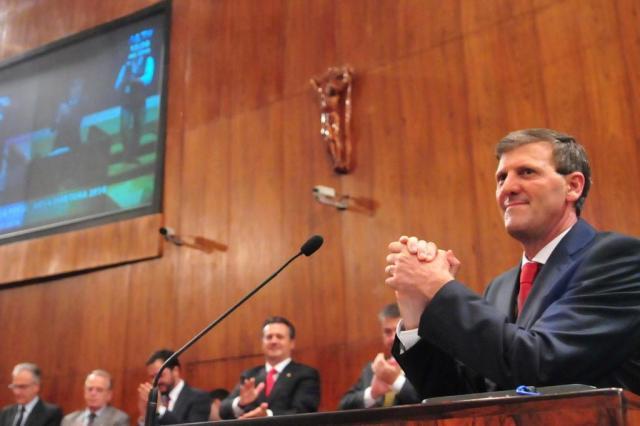 Gilmar Sossella toma posse como presidente da Assembleia do RS Marcos Eifler/AL-RS,Divulgação