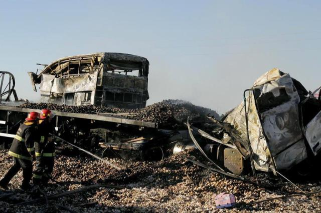 Acidente com caminhão brasileiro deixa ao menos 17 mortos na Argentina Delfo Rodriguez/NA/AFP