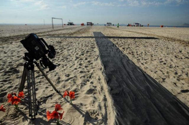ONG realiza homenagem a cinegrafista morto no Rio de Janeiro Tânica Rêgo/Agência Brasil