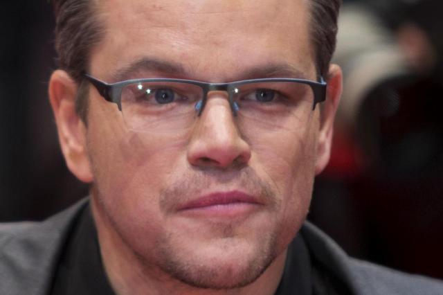 """Matt Damon fala sobre bastidores de """"Caçadores de Obras-Primas"""" DAVID GANNON/AFP"""