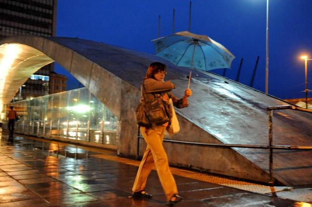 Frente fria provoca chuva intensa e derruba temperatura no RS Diogo Zanatta/Especial