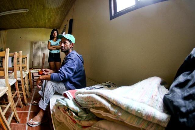 """""""As telhas pareciam papelão"""", relata morador de Torres que teve casa destruída pelo temporal Harleyson Almeida/Especial"""