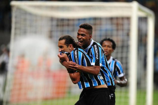 Aprendiz de Roger, lateral Wendell é trunfo do Grêmio para encarar o Esportivo Ricardo Duarte/Agencia RBS