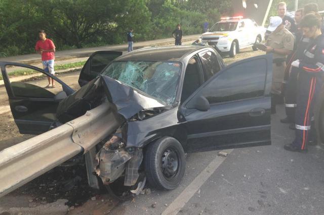 """""""Ele ainda está em estado de choque"""", afirma mãe do motorista que sofreu grave acidente na SC-401  Guto Kuerten/Agência RBS"""