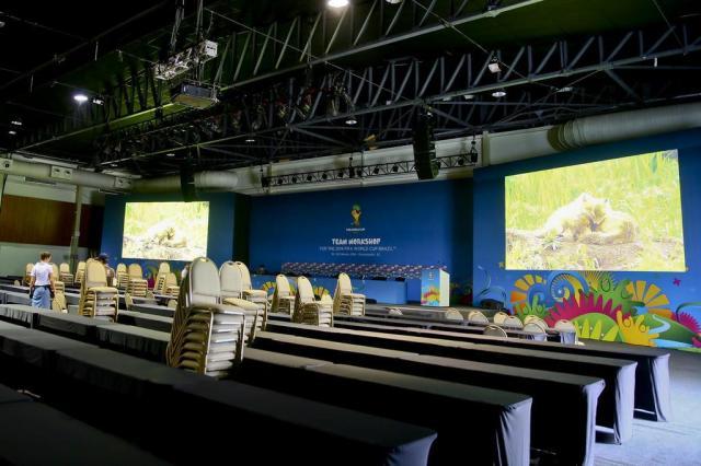 Estruturas para Congresso da Fifa do Costão do Santinho estão praticamente prontas e seleções começam a chegar Jessé Giotti/Agencia RBS