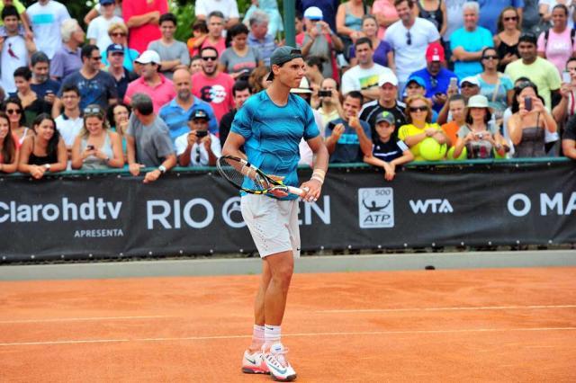 Favoritos, Nadal e Ferrer estreiam no Rio Open nesta terça-feira João Pires/ Fotojump/