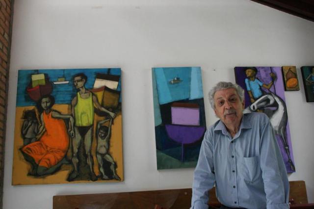 Aos 86 anos, morre o artista plástico gaúcho Glenio Bianchetti Francisco Dalcol/Francisco Dalcol