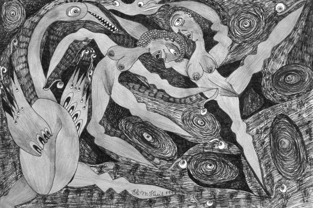 Eli Heil mostra obras pouco conhecidas em preto e branco a partir de sábado em Florianópolis Reprodução/Reprodução