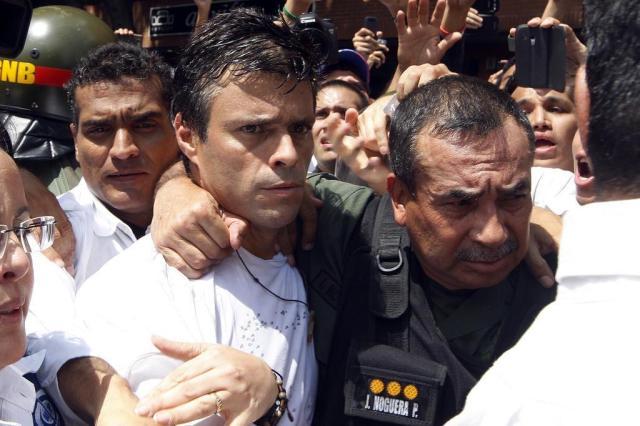 A face radical do antichavismo Edwin Montilva/AFP