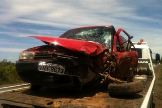 Acidente entre carro e caminhonete deixa seis feridos em Restinga Seca Jean Pimentel/Agência RBS