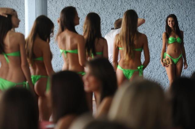 Candidatas a Garota Verão demonstram ansiedade a dois dias da etapa final do concurso Mauro Vieira/Agencia RBS