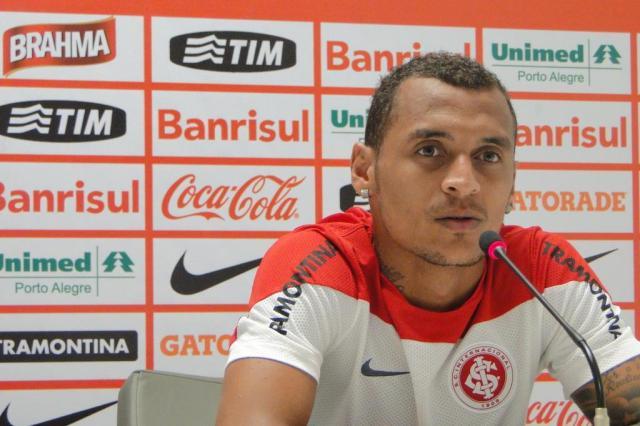 """Diogo Olivier: """"O outro jogador que Abel quer recuperar"""" Augusto Turcato/Agência RBS"""