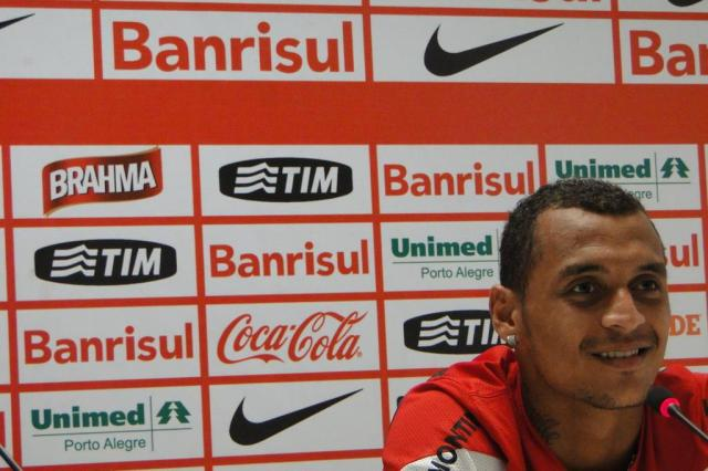 "Grato a Abel por início de ano como titular, Alan Patrick diz: ""Quero muito ficar no Inter"" Augusto Turcato/Agência RBS"