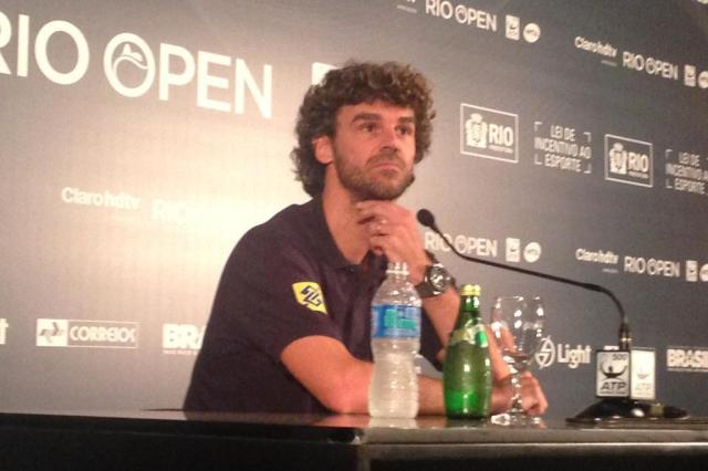 Guga aponta problemas do tênis brasileiro e critica organização da Copa Eduardo Gabardo/Agencia RBS
