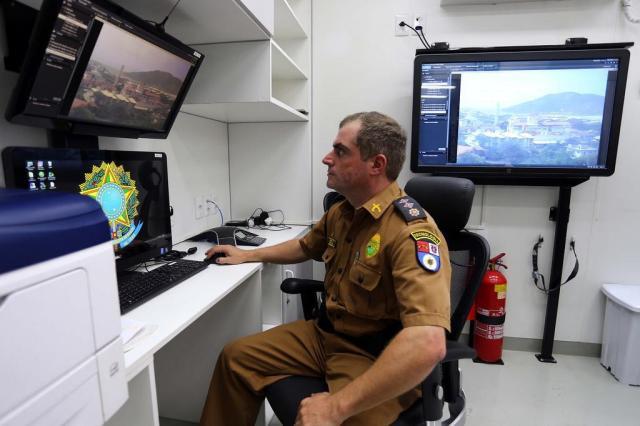 Esquema de segurança em Florianópolis é uma prévia do que será usado na Copa Cristiano Estrela/Agencia RBS