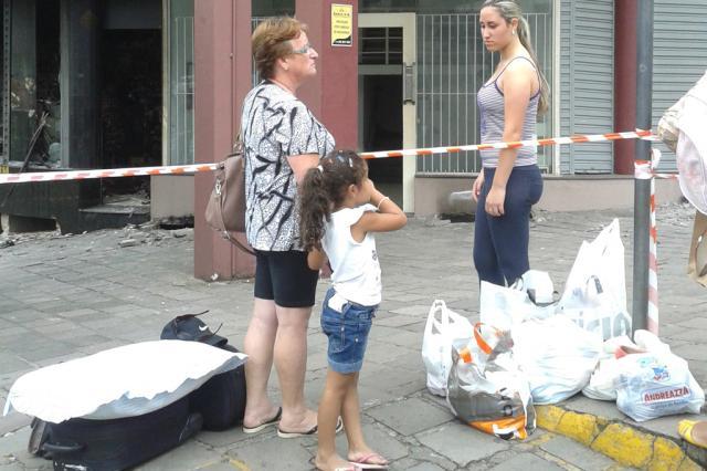 Após incêndio, Edifício Real é interditado em Caxias do Sul Adriano Duarte, agência RBS/