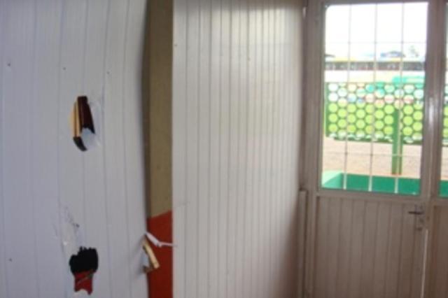 Passo Fundo divulga foto de vestiário visitante vandalizado no Vermelhão da Serra EC Passo Fundo/Divulgação