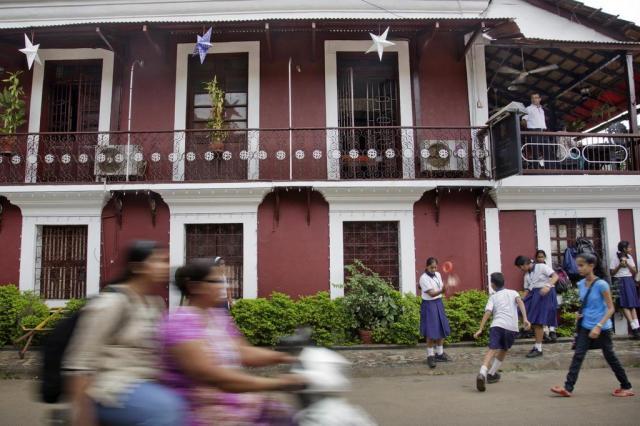 """Conhecida como a """"Índia para iniciantes"""", Goa chama atenção pela arquitetura e gastronomia Kuni Takahashi/NYTNS"""