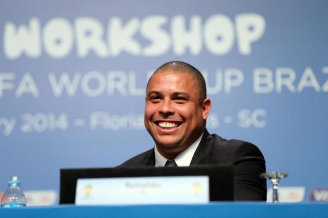 """""""Queria ter anos e quilos a menos"""" brinca Ronaldo sobre jogar a Copa no Brasil Alvarélio Kurossu/Agencia RBS"""