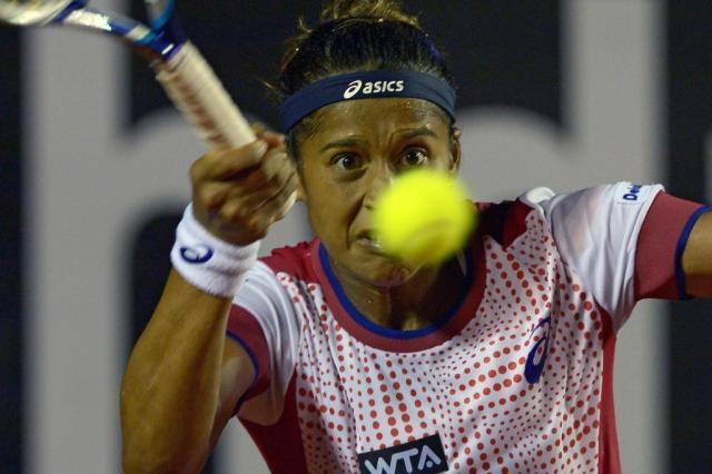Fique por dentro do WTA - Brasil Tennis Cup, que acontece em Florianópolis YASUYOSHI CHIBA/AFP