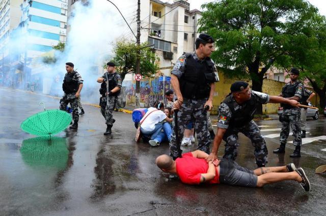 Como os policiais militares devem atuar nos protestos Gabriel Haesbaert / Especial/Especial