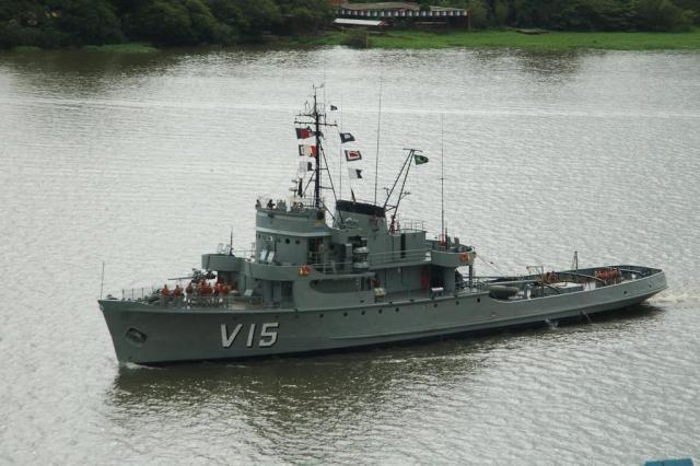 Navio guarda-costas da Marinha estará aberto para visitação em Porto Alegre Marinha/Divulgação