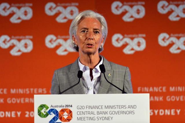 """Países do G-20 se comprometem fazer economia mundial crescer """"com políticas ambiciosas"""" Saeed KHAN/AFP"""