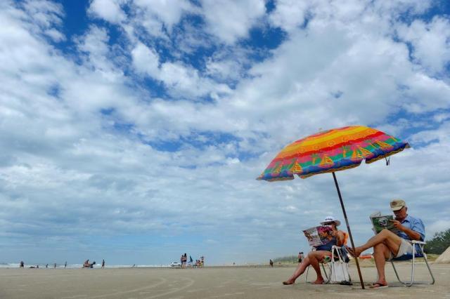 Chuvas finas atigem algumas praias do Litoral Norte Mauro Vieira/Agencia RBS