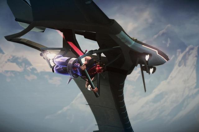 """Jogo """"Strider"""" retorna em alta definição Capcom/Divulgação"""