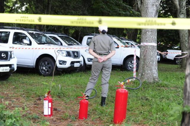 Piratini trata incêndio de viaturas da Brigada Militar como atentado Ronaldo Bernardi/Agencia RBS