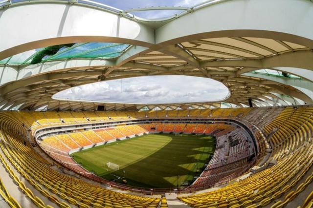 Com 97% das obras concluídas, Arena Amazônia tem inauguração confirmada para dia 9 de março José Zamith de Oliveira Filho/Portal da Copa