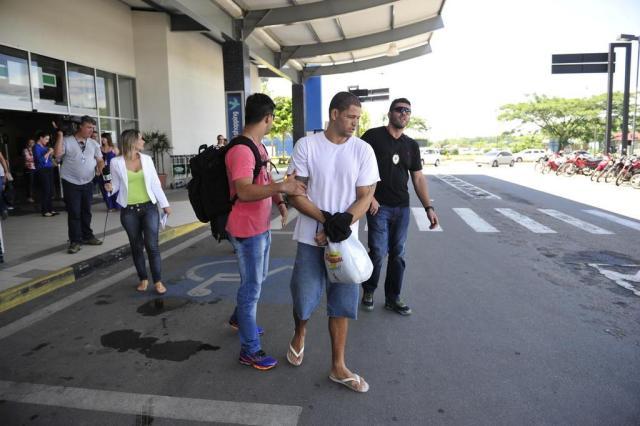 Presidente de torcida organizada do Vasco chega a Joinville Salmo Duarte/Agencia RBS